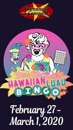 Betsy Carmichael's Hawaiian Luau BINGO